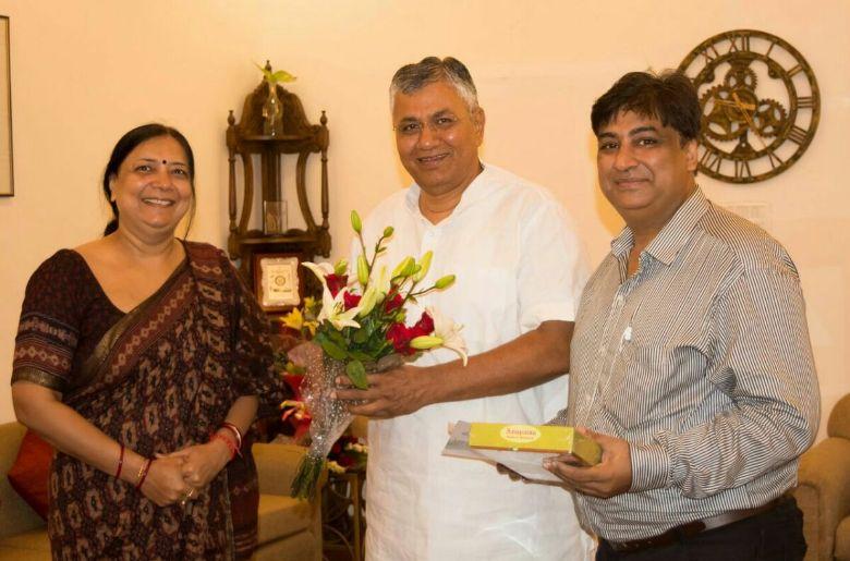 ravishankarjee-meeting
